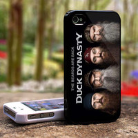 Duck Dynasty iPhone 4 4S case , iPhone 5 Case samsung Galaxy S2 case, samsung Galaxy S3 case