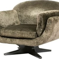 One Kings Lane - One Kings Lane Style Team - Canoe Swivel Chair