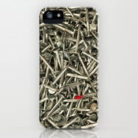 Nailed iPhone Case by Bruce Stanfield