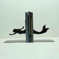 Mermaid Bookends  FREE USA Shipping by KnobCreekMetalArts on Etsy