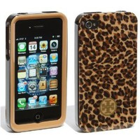 Tory Burch iPhone 4 4S Phone Case in Little LEOPARD for ATT Verizon: Cell Phones &amp; Accessories