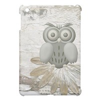 White Owl iPad Mini Covers from Zazzle.com