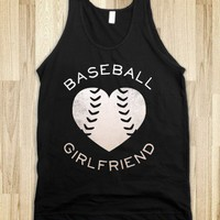 Baseball Girlfriend (Dark Tank) - Sports Girl