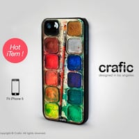 Watercolor Set iPhone 5 Case