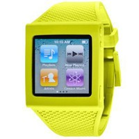 HEX HX1001-GREN Watch Band for iPod Nano 6G (Green)