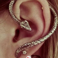 *Regular Earring* Snake Earring