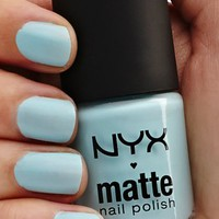 NYX Matte Polish - Pastel Blue