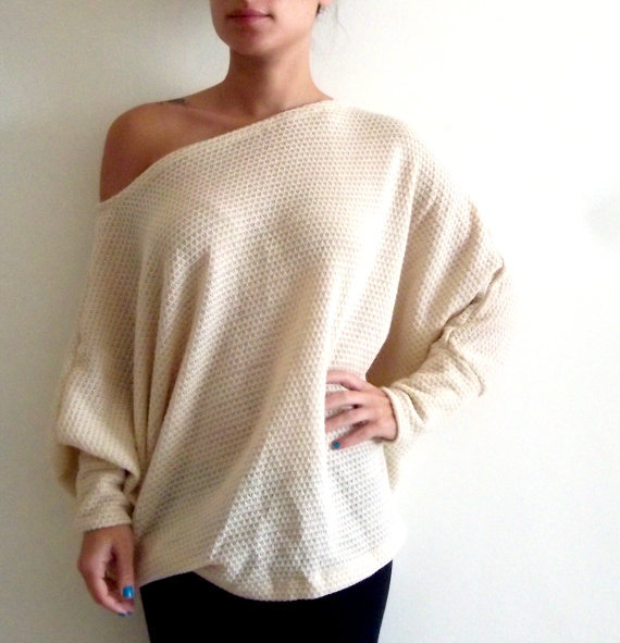 Plus size tunic top/ Oversize knitted from onor on Etsy