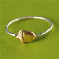 Acorn Stacking Ring - Spiffing Jewelry
