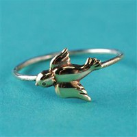 Swallow Stacking Ring - Spiffing Jewelry