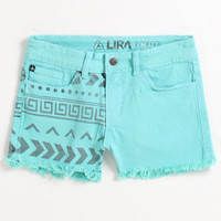 Lira Row Blue Shorts