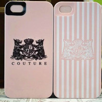 sweet lovely pink stripe case for iphone 5