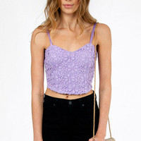 Miss Daisy Crop Bustier $26