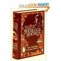 The Complete Sherlock Holmes (Leatherbound Classics Series) [Leather Bound]
