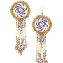 Bead Dream Catcher Earrings