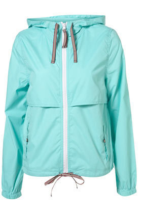 Basic Pac-a-Parka - Mint - Topshop USA
