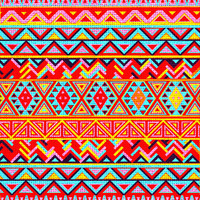 India Style Pattern (Multicolor) Art Print by Maximilian San | Society6