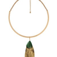 Dangling Feather Necklace | FOREVER21 - 1000041075