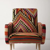 One-Of-A-Kind Berr Armchair, Color Cube