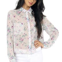 Coming Up Floral Top $30