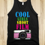 COOL GIRLS SHOOT FILM | Black Tank