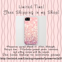 FREE SHIPPING! by Lisa Argyropoulos | Society6