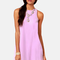 Chiff-On the Run Lavender Dress