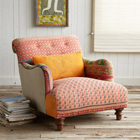 ONE-OF-A-KIND YASHODHAN SARI ARMCHAIR