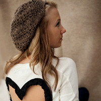 Brown Slouch Hat