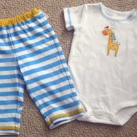 Amazon.com: Carter's Cute & Comfy Combo Boy 2pc Set Long Hug: Baby