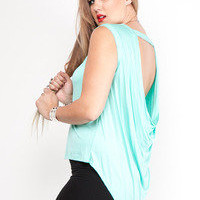 Plus Size Blouse With Draping Back   Tanny&#x27;s Couture LLC