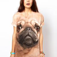 The Mountain Pug T-Shirt