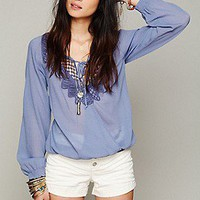 Free People  That&#x27;s A Wrap Crochet Top at Free People Clothing Boutique