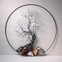 Wire Tree Of Life Winter Wind Spirit sculpture by CrowsFeathers