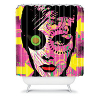 DENY Designs Home Accessories | Amy Smith Pink 1 Shower Curtain