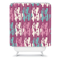 DENY Designs Home Accessories | Njeri Designs Mushroom Hunt Shower Curtain