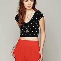 Polka Dot Crop Cami at Free People Clothing Boutique