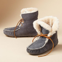 MOXIE SHEARLING SHORT BOOTS
