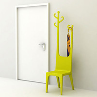 Reindeer Coat Hanger &amp; Chair