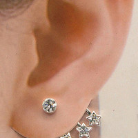 U pick 1pc of Single earring cuff crystal stud Wraps Earrings Pin-3 designs