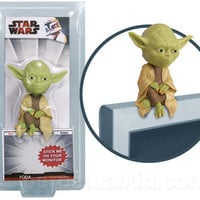 YODA COMPUTER MONITOR SITTER BOBBLE-HEAD