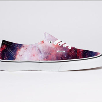galaxy, vans, purple shoes, pink shoes, cosmic, stars | Wheretoget.it