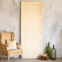 Eloquence Collection Vintage Door in Cream Lacquer