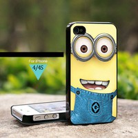 Despicable Me Minion - For iPhone 4 / 4s Black Case