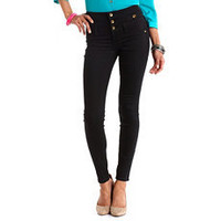Refuge High-Waist Skinny Jean: Charlotte Russe