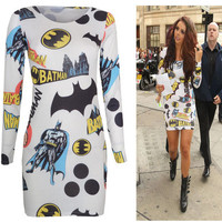 *BEST SELLER* Batman Bodycon Dress