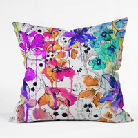 DENY Designs Home Accessories | Holly Sharpe Lost In Botanica 1 Throw Pillow