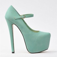 Sally Mary Janes - Mint