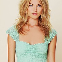 Free People Intimately Free People Scallop Edge Lace Crop