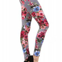 Charcoal Rose LeggingsPurchase
